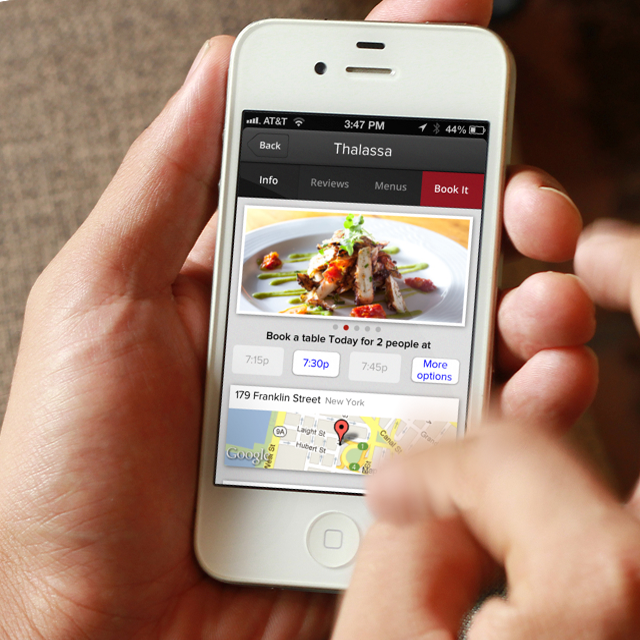 City Eats Restaurant Reservations App For Mobile Chad